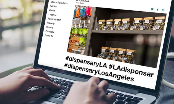Use Hashtags to Reach More Cannabis Users