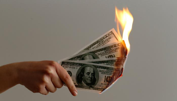 cannabis nursery expenses burning