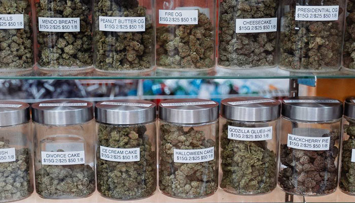 Operating Expenses cannabis dispensary jars of buds