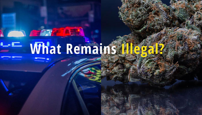 what remains illegal under virginia marijuana legalization