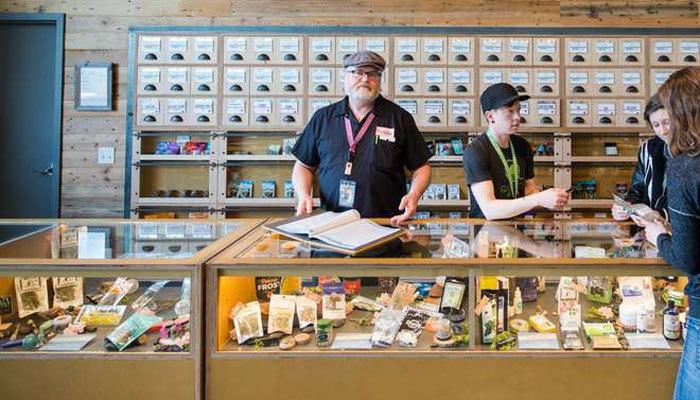 cannabis dispensary employees staff