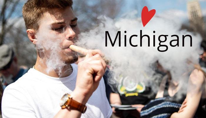 michigan marijuana smoker